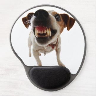 Mouse Pad De Gel Cão agressivo - cão irritado - cão engraçado