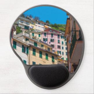 Mouse Pad De Gel Casas coloridas em Cinque Terre Italia