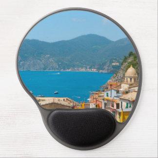 Mouse Pad De Gel Cinque Terre no Riviera italiano