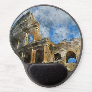 Mouse Pad De Gel Colosseum em Roma antiga Italia