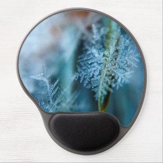 Mouse Pad De Gel Cristal de gelo, inverno, neve, natureza