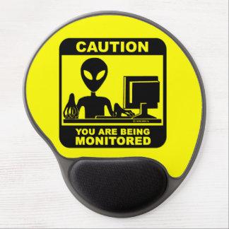 Mouse Pad De Gel Cuidado! você está sendo monitorado