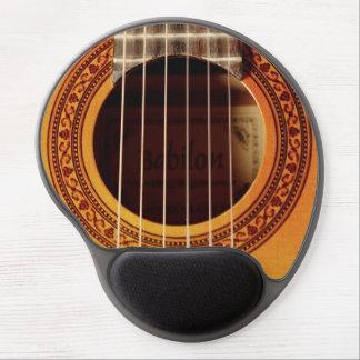 Mouse Pad De Gel Detalhe da guitarra acústica