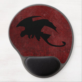 Mouse Pad De Gel Dragão medieval da fantasia do vintage