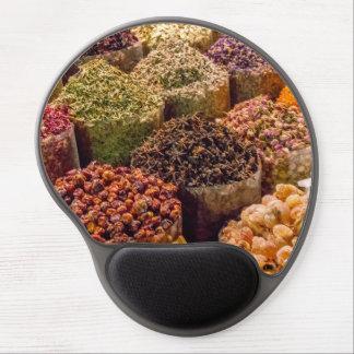 Mouse Pad De Gel Especiarias do gel Mousemat de Médio Oriente