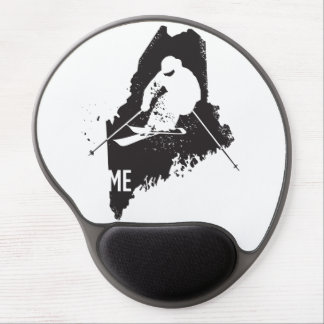 Mouse Pad De Gel Esqui Maine