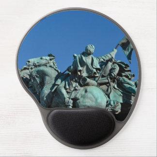 Mouse Pad De Gel Estátua do soldado da guerra civil em Washington