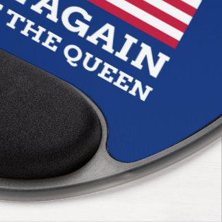 Mouse Pad De Gel Faça América real outra vez