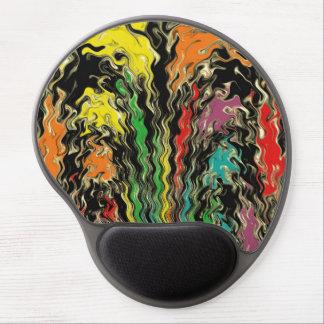 Mouse Pad De Gel Fantasmas do arco-íris perto