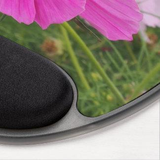 Mouse Pad De Gel Flor cor-de-rosa bonita do cosmos