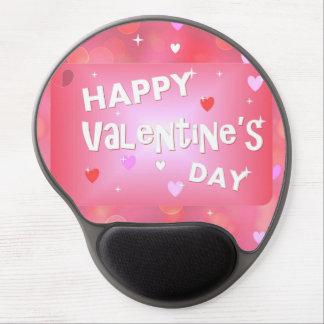 Mouse Pad De Gel Fundo do feliz dia dos namorados