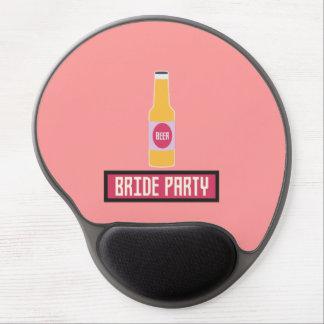 Mouse Pad De Gel Garrafa de cerveja Z6542 do partido da noiva