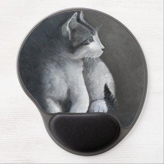Mouse Pad De Gel Gatinho do gato malhado