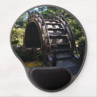 Mouse Pad De Gel Gel japonês Mousepad da ponte do cilindro do