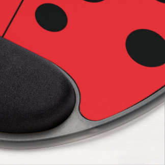 Mouse Pad De Gel Gel moderno Mousepad do joaninha
