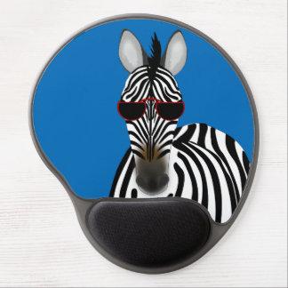 Mouse Pad De Gel Gel Mousepad da zebra