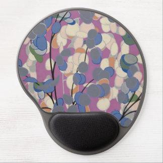 Mouse Pad De Gel Gel Mousepad das plantas do art deco
