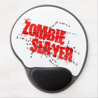 Mouse Pad De Gel Gel Mousepad do assassino do zombi