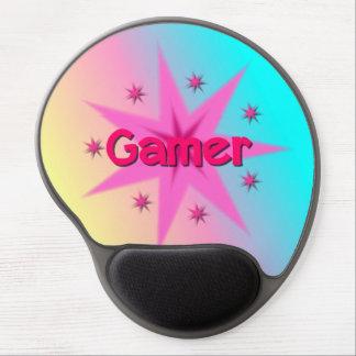 Mouse Pad De Gel Gel Mousepad do Gamer da menina