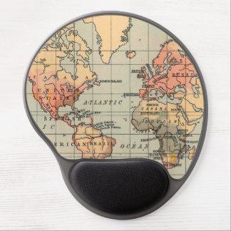 Mouse Pad De Gel Great World Map