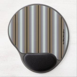 Mouse Pad De Gel HAMbyWG - tapete do rato do gel - preto & branco