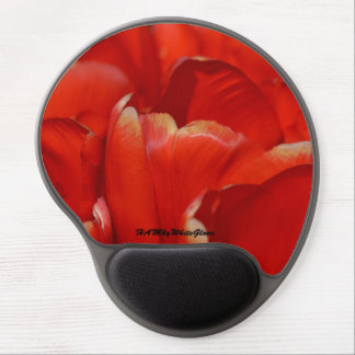 Mouse Pad De Gel HAMbyWG - tapete do rato do gel - tulipas