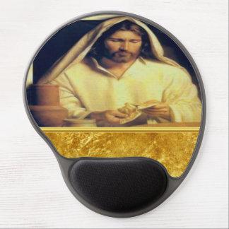 Mouse Pad De Gel Jesus que quebra a textura do ouro de matthew