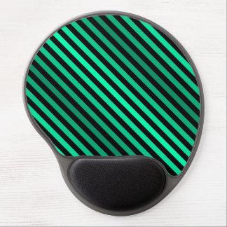 Mouse Pad De Gel Listras verdes de máscaras de variação