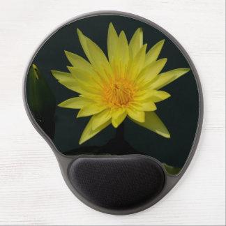 Mouse Pad De Gel Lotus amarelo Waterlily