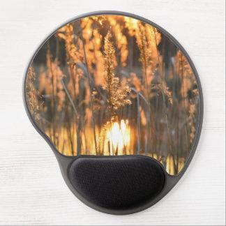 Mouse Pad De Gel Luz do sol de ascensão na grama