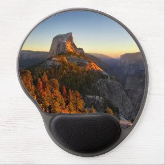 Mouse Pad De Gel Meia abóbada no detalhe do por do sol - Yosemite