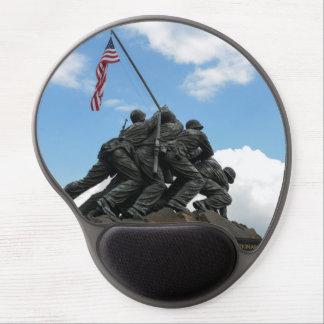 Mouse Pad De Gel Memorial de Iwo Jima no Washington DC