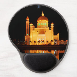 Mouse Pad De Gel Mesquita de Omar Ali Saifuddin da sultão