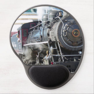 Mouse Pad De Gel Motor de vapor MousePad da estrada de ferro