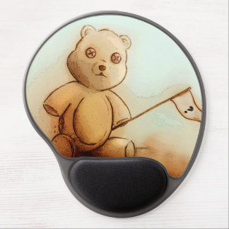 Mouse Pad De Gel Mousepad original do gel da arte do vintage -