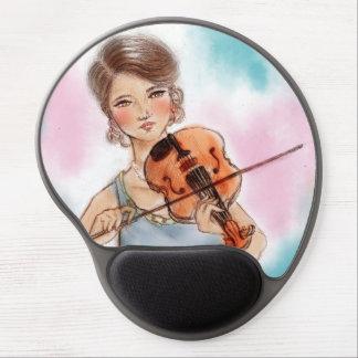 Mouse Pad De Gel Mousepad original do gel da arte do vintage -