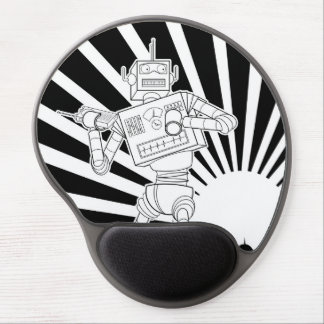 Mouse Pad De Gel Mousepad Vintage Robot