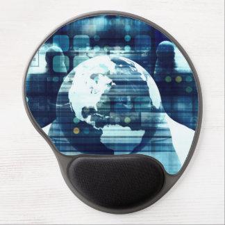Mouse Pad De Gel Mundo de Digitas e indústria do estilo de vida da