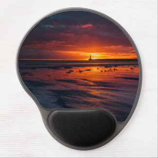 Mouse Pad De Gel Nascer do sol no gel Mousepad de Roker
