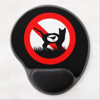 Mouse Pad De Gel Nenhuns gatos exteriores