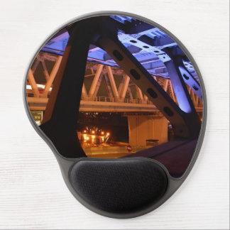 Mouse Pad De Gel Noite da ponte na cidade