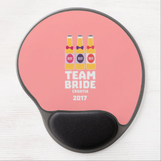 Mouse Pad De Gel Noiva Croatia da equipe 2017 Z6na2