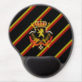 Mouse Pad De Gel O belga listra a bandeira