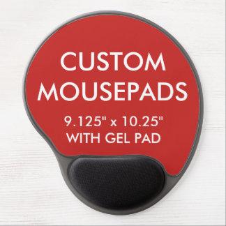 Mouse Pad De Gel O costume personalizou o modelo do vazio do tapete