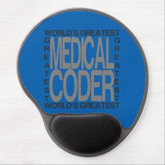 Mouse Pad De Gel O grande codificador médico dos mundos