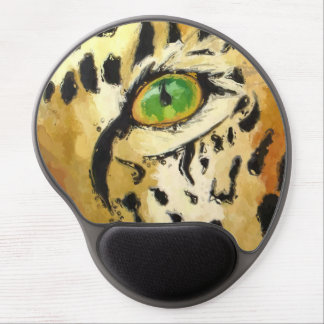 Mouse Pad De Gel O olho do leopardo (arte de Kimberly Turnbull)