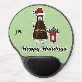 Mouse Pad De Gel Papai noel do Natal da criança do miúdo do pacote