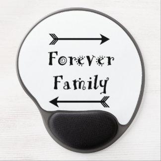 Mouse Pad De Gel Para sempre família - design de Adpotion