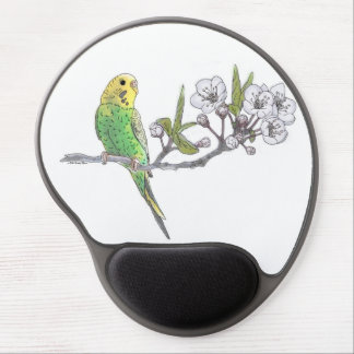 Mouse Pad De Gel Parakeet no ramo