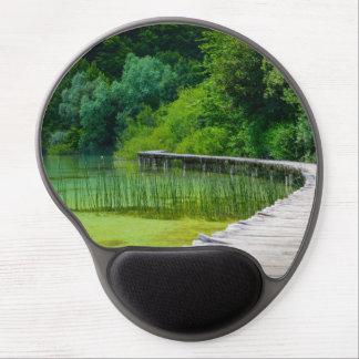 Mouse Pad De Gel Parque nacional de Plitvice em fugas de caminhada